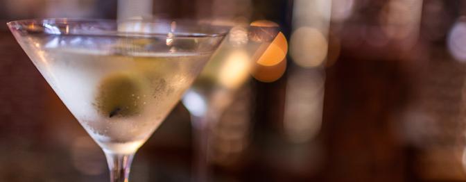 Dry Martini de Saquê